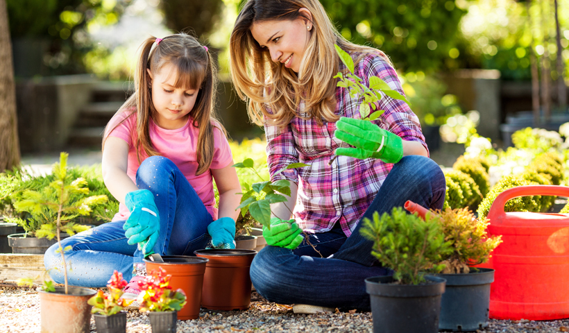Kids Who Help in the Garden are Smarter and Healthier
